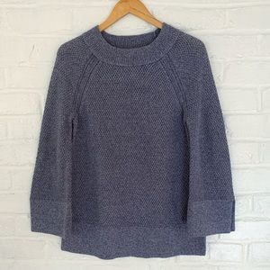 NWT LOFT Sweater with bell sleeves